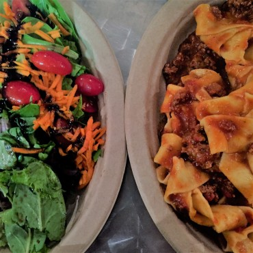 Italian Homemade Company Pappardelle and Bolognese Sauce