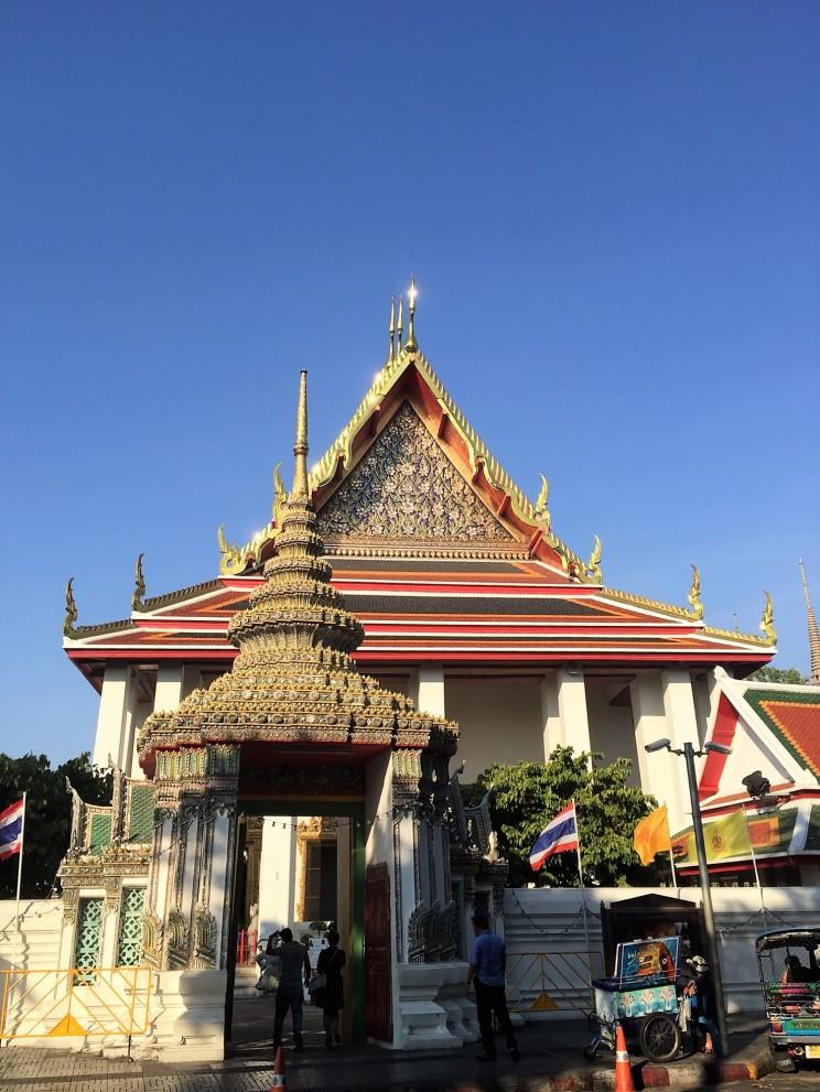 Wat Po Front Entrance