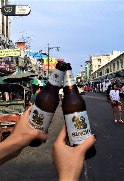 Fresh beers on Khao San Road