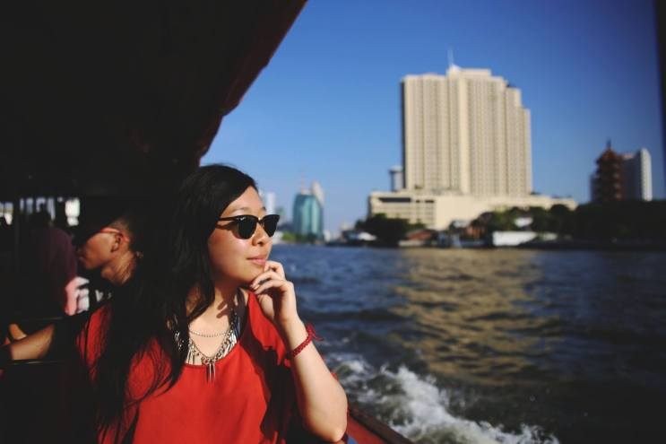 Sailing along Chao Phraya River. Credit: Tonia Wang Photography