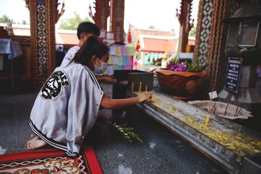 Prayers. Credit: Tonia Wang Photography